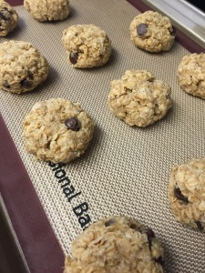 Vegan, Gluten Free, Oatmeal Banana Chocolate Chip
